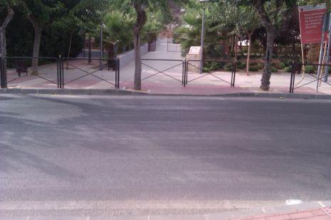 Pasos de cebra en Los Ramos