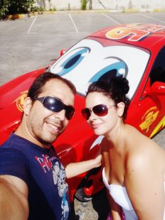 Con Rayo McQueen