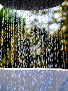 Ducha de agua fría