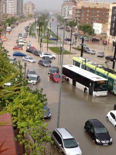 Inundaciones en Murcia