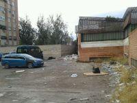 Solar propiedad del Ayuntamiento de Murcia en condicones pésimas de salubridad