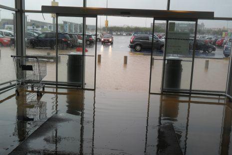 IKEA inundado
