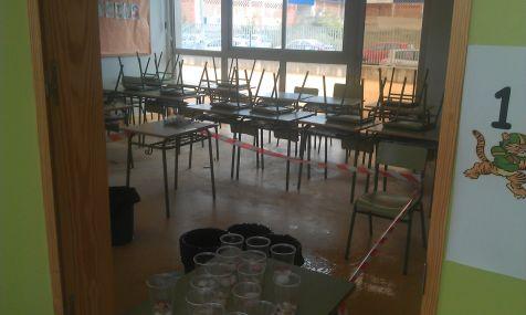 Goteras CEIP Escuelas Nuevas