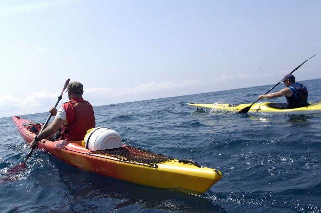 Kayak en Cabo de Palos