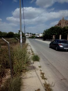 �Por d�nde pasan los peatones de Monteagudo?