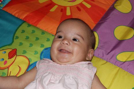 Aroa cumple 5 meses