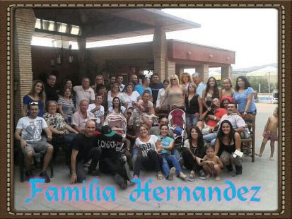 Reuni�n de la familia Hern�ndez
