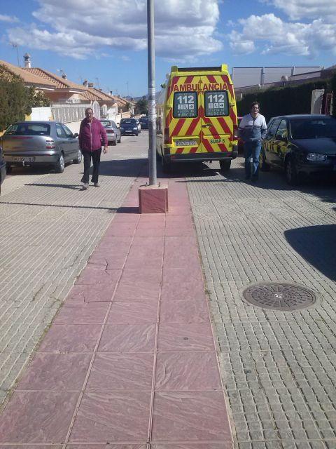 Calles colapsadas