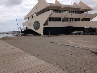 Así no se cuida el Mar Menor (Santiago de la Ribera)